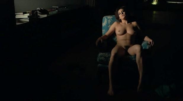 Maria Fernanda Cândido nude bush Bárbara Paz nude full frontal with Clara Choveaux - Meu Amigo Hindu (BR-2015) (18)
