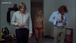 Miou-Miou nude bush, boobs and full frontal with Brigitte Fossey and Isabelle Huppert nude too - Les valseuses (FR-1974) HDTV 720p (5)