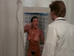 Bea Fiedler nude bush Taaffe O'Connell and Louisa Moritz nude too - Hot Chili (1985) (9)