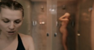 Laura Birn nude in shower Clémence Poésy hot some sex too - The Ones Below (UK-2015) HD 720p web-dl