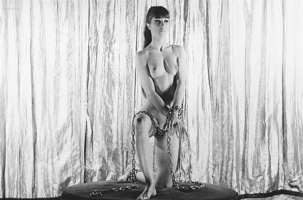 Marie-France Pisier nude but covered Prima Symphony nude - Trans-Europ-Express (1966) (1)