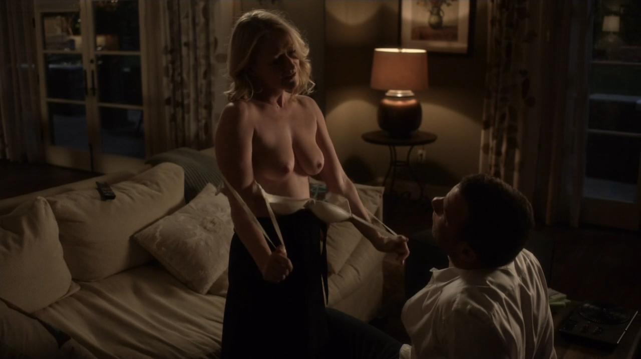 Paula Malcomson nude topless and Embeth Davidtz nude too - Ray Donovan (2016) s4e6 HD 720p (7)