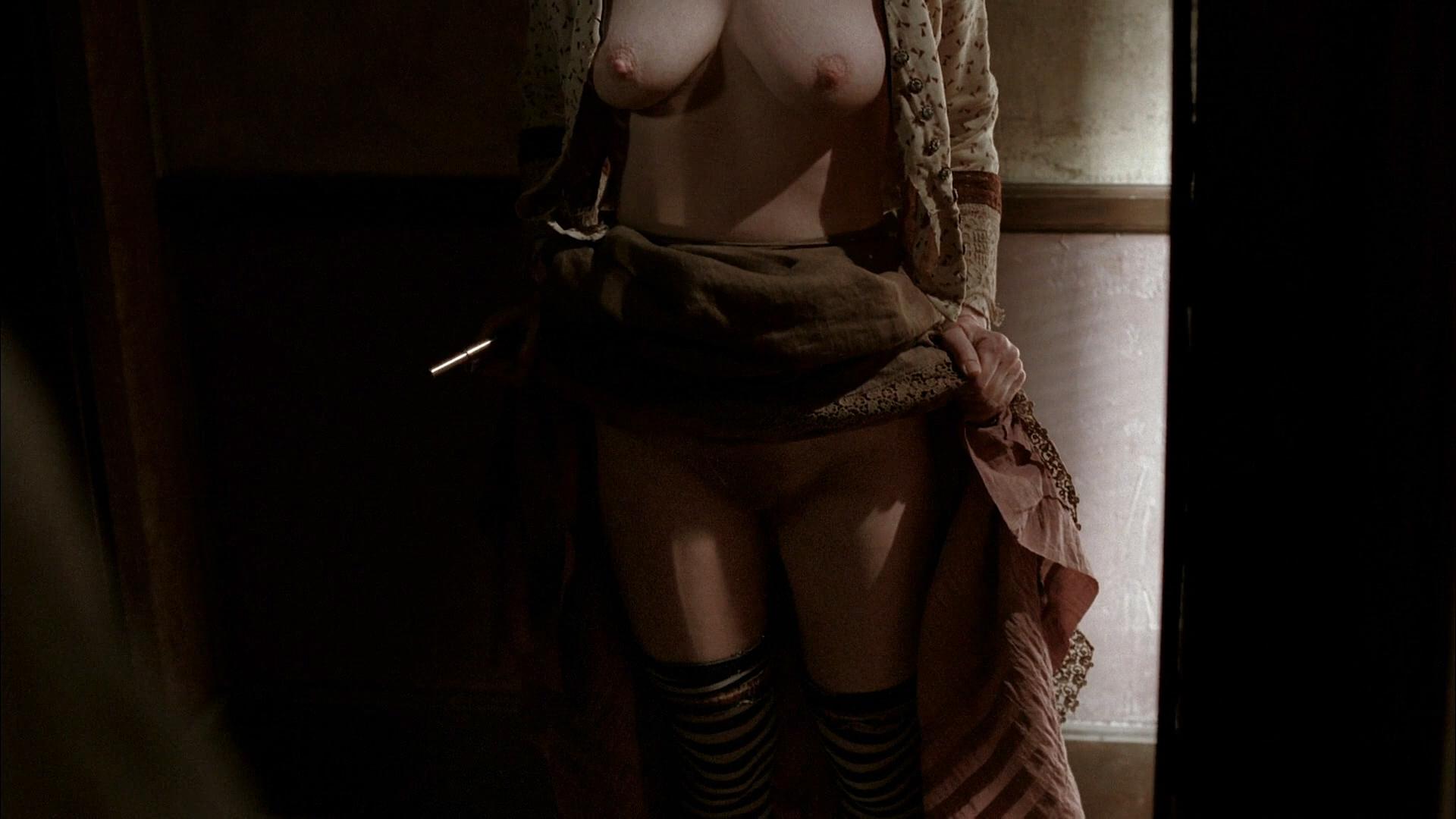 Paula Malcomson nude topless and bush - Deadwood (2006) s3e11HD 1080p (1)
