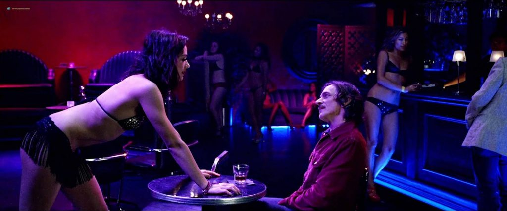 Vail Bloom nude full frontal, bush butt and Dichen Lachman hot as stripper - Too Late (2015) HD 1080p Web (5)