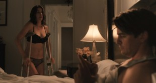 Cobie Smulders hot and very sexy in lingerie - The Intervention (2016) HD 1080p (4)
