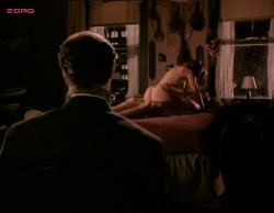 Kari Wuhrer nude topless and sex - Sex and the Other Man (1995) (14)