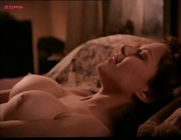 Kari Wuhrer nude topless and sex - Sex and the Other Man (1995)