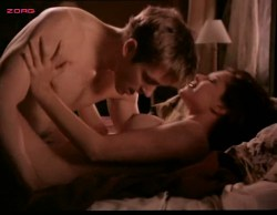 Kari Wuhrer nude topless and sex - Sex and the Other Man (1995) (2)