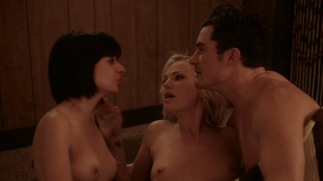 Malin Akerman Nude Topless And Sex And Kate Micucci Nude -1247