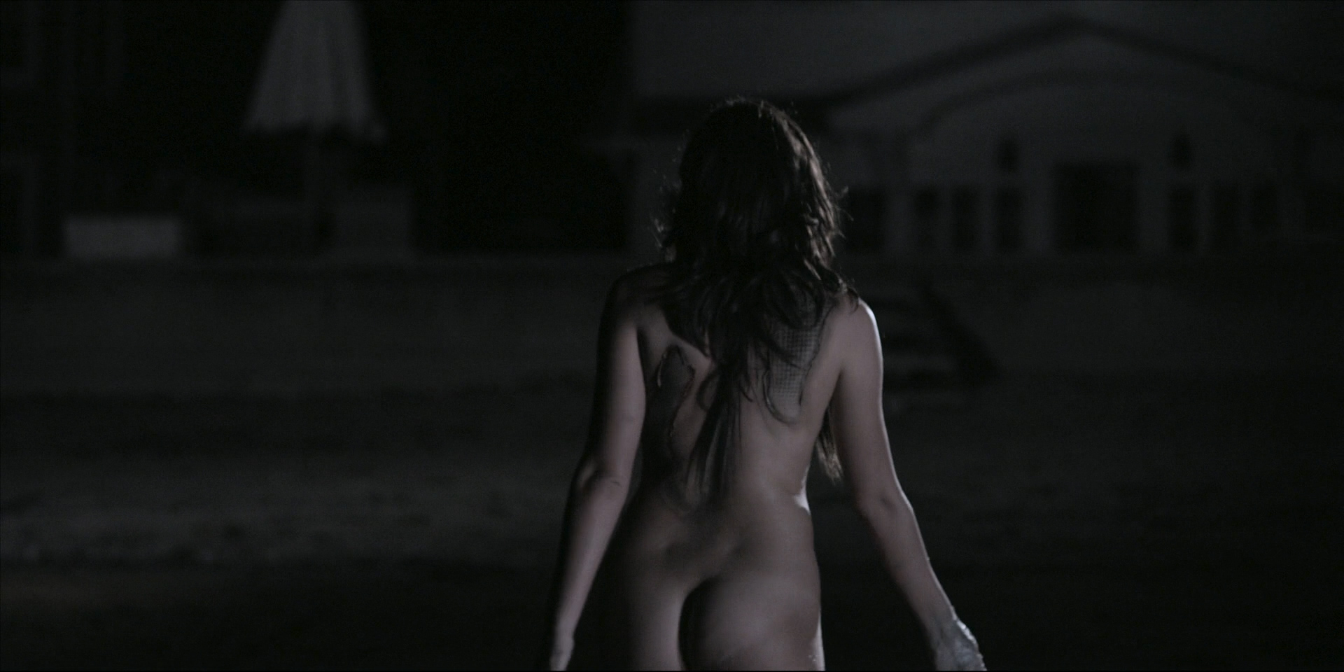 Victoria Johnstone nude butt boobs and Meredith Majors nude but covered – Lake Eerie (2016) HD 1080p (4)