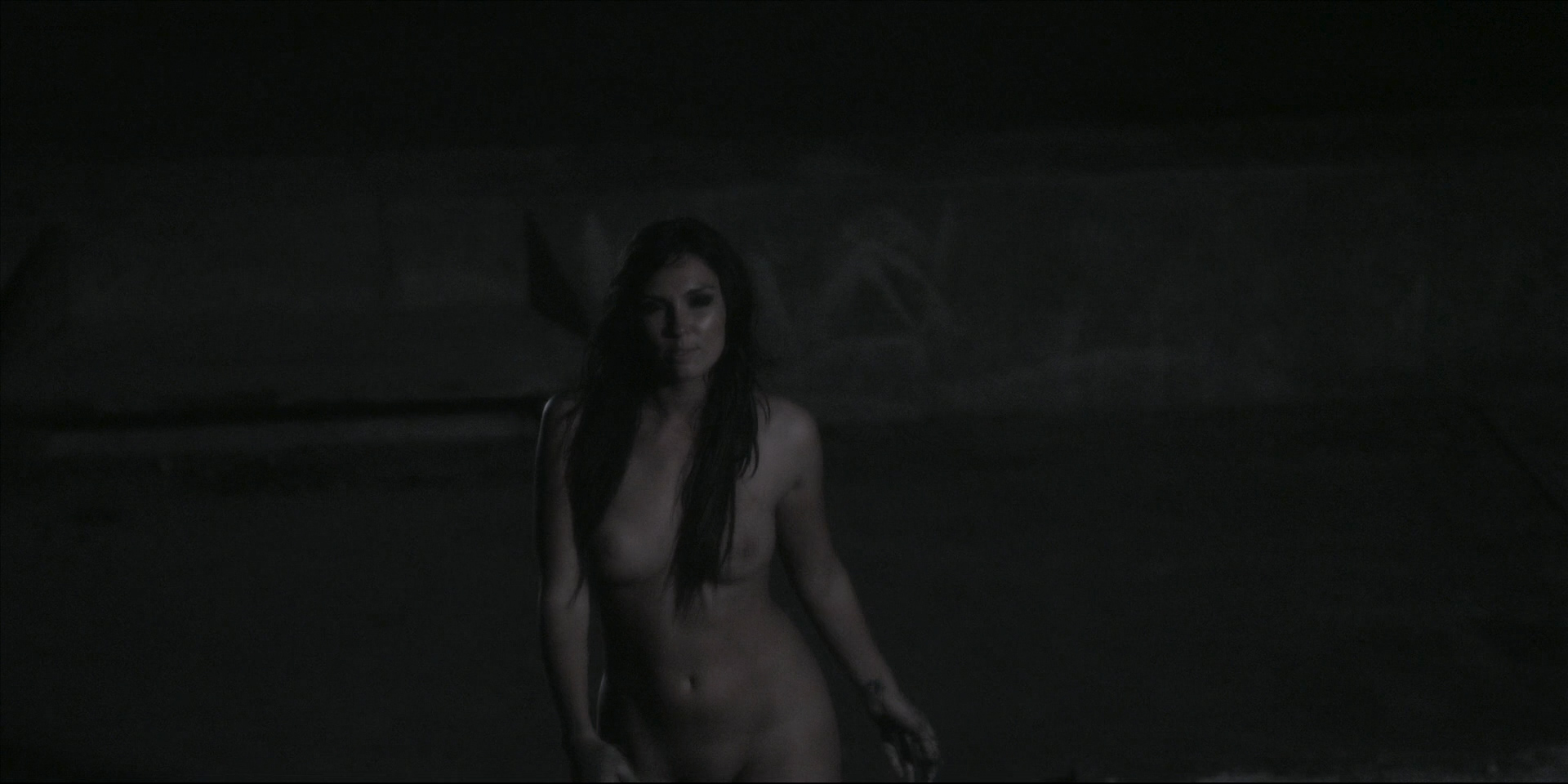 Victoria Johnstone nude butt boobs and Meredith Majors nude but covered – Lake Eerie (2016) HD 1080p (2)