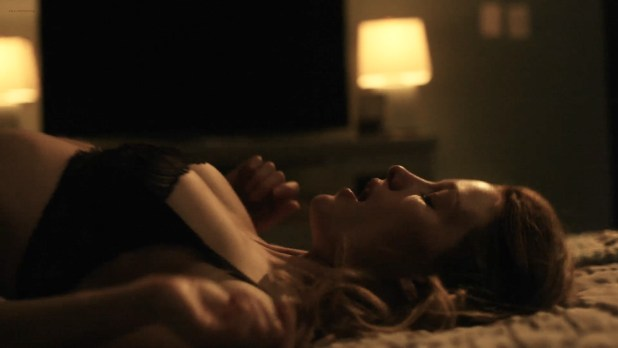 Ashley Hinshaw hot sex Stephanie Drapeau butt crack and Yinoelle Colón oral- StartUp (2016) s1e3 HD 1080p (2)