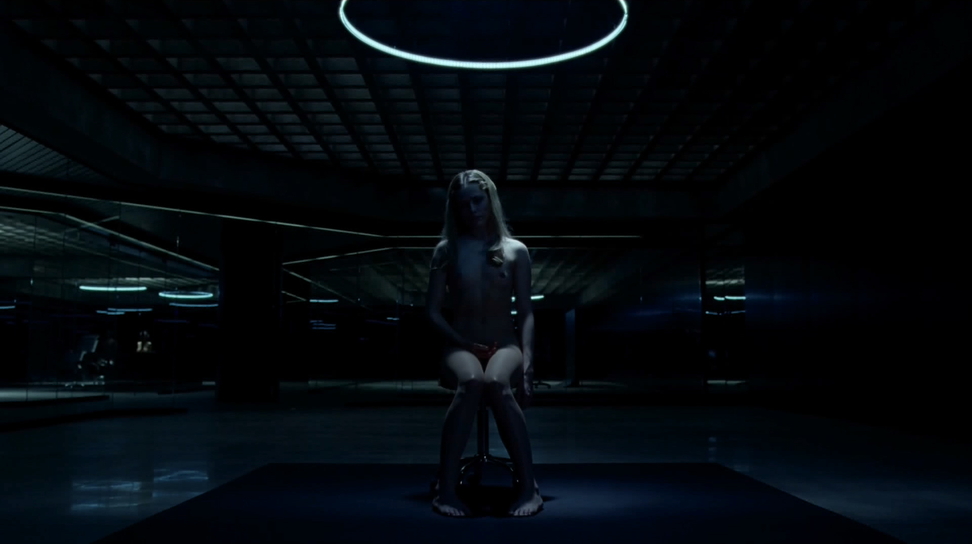 Evan Rachel Wood nude topless and butt Angela Sarafyan nude topless - Westworld (2016) s1e1 HD 1080p (12)