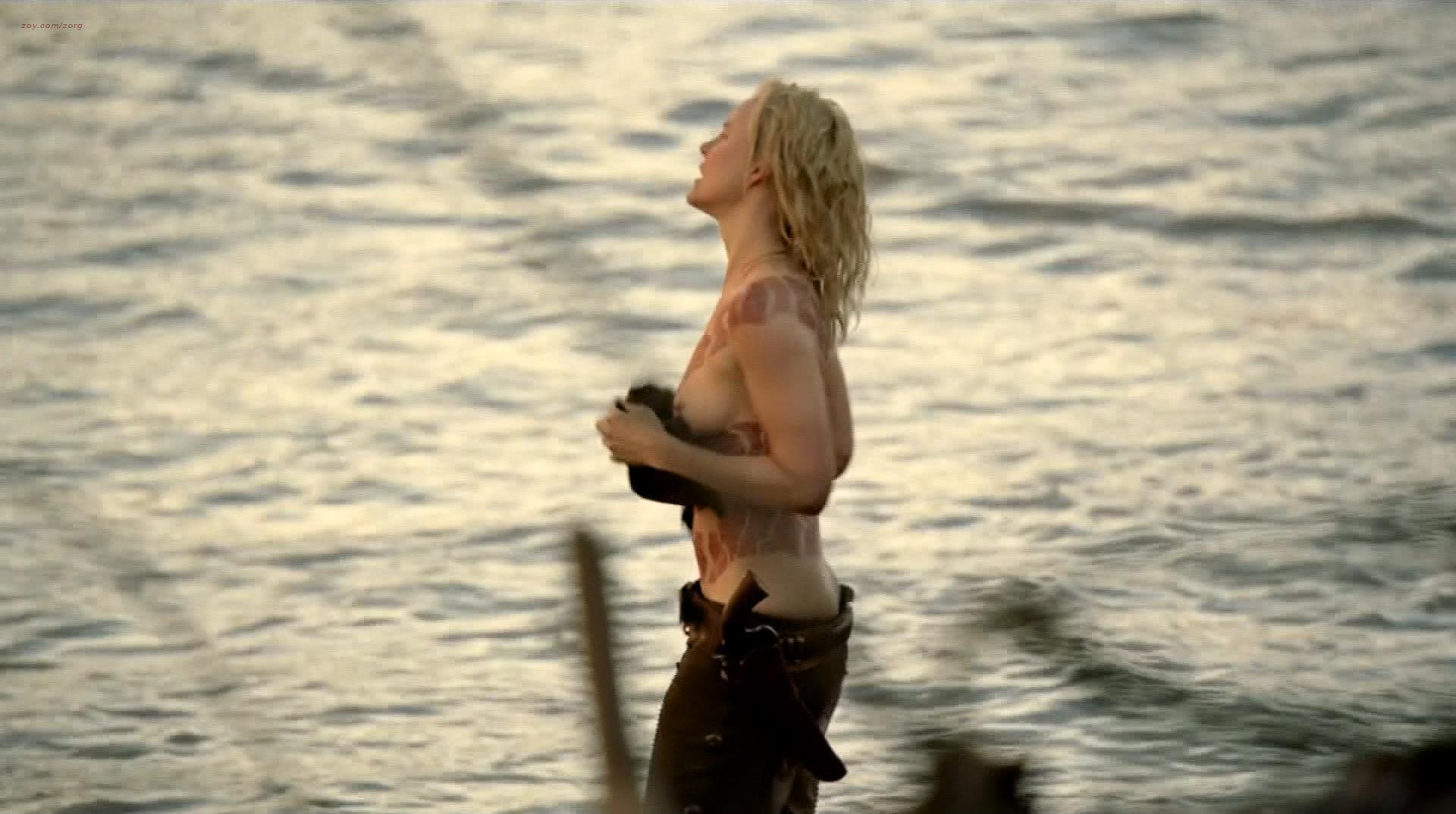 Ingrid Bolsø Berdal nude topless Thandie Newton hot panties - Westworld (2016) s1e4 HD 1080p (6)