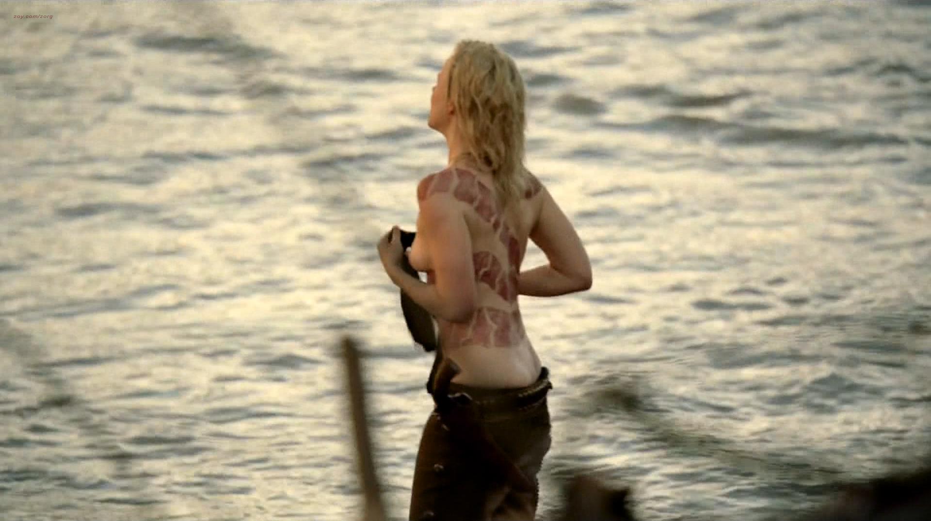 Ingrid Bolsø Berdal nude topless Thandie Newton hot panties - Westworld (2016) s1e4 HD 1080p (5)