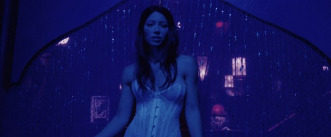 Jessica Biel nude topless ultra hot - Powder Blue (2009) HD 1080p BluRay (8)