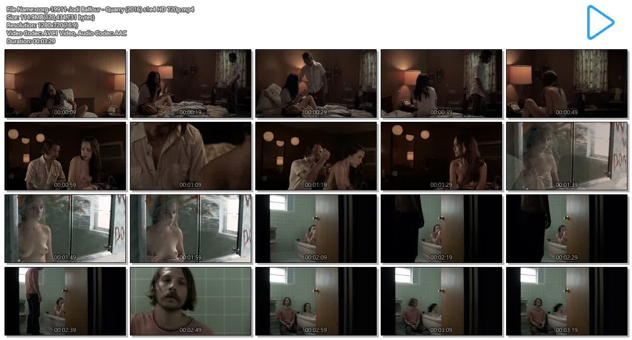 Jodi Balfour nude topless and hot - Quarry (2016) s1e4 HD 720p (8)