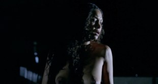 Thandie Newton nude topless and butt - Westworld (2016) s1e2 HD 1080p (1)