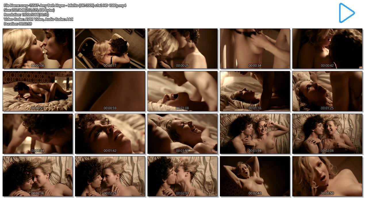 Amy Beth Hayes nude busty topless and sex - Misfits (UK-2009) s1e2 HD 1080p (11)