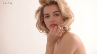 Ana de Armas hot see through for Icon (2016) HD 1080p (5)