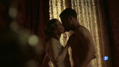 Esmeralda Moya nude topless and sex - Victor Ros (ES 2016) s2e1 HDTV 720p (7)