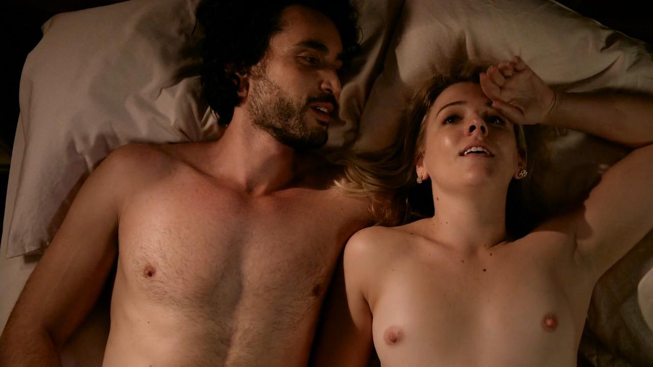 Helene Yorke nude topless – Graves(2016) s01e04 HD 720p (2)