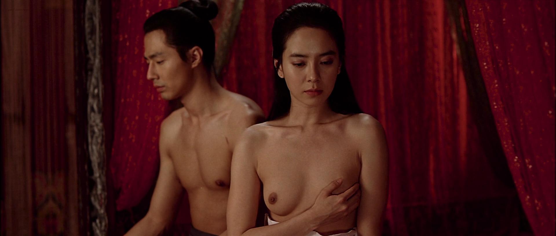Ji-hyo Song nude topless butt and lot of hot sex - A Frozen Flower (KR-2008) HD 1080p BluRay (13)