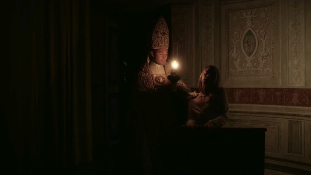 Ludivine Sagnier hot sexy and sex – The Young Pope (2016) s01e04 HD 720p (5)
