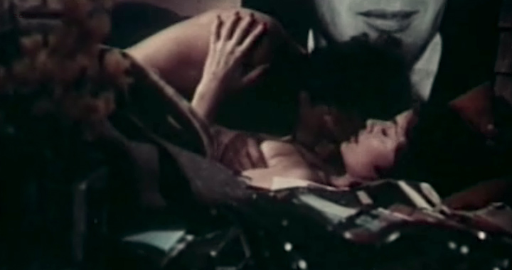 Marisa Mell nude topless and sex and Helga Line nude topless - La moglie giovane (IT-1974) (2)