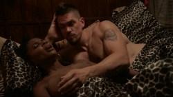 Shanola Hampton nude and Isidora Goreshter nude sex threesome - Shameless (2016) s7e7 HD 1080p (7)