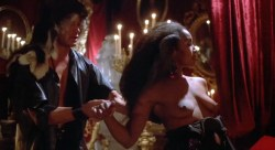 Sybil Danning nude topless and Marsha A. Hunt nude - Howling II (1985) HD 1080p (1)