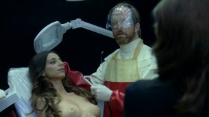 Thandie Newton nude bush and boobs Angela Sarafyan nude and Tessa Thompson butt naked - Westworld (2016) s01e07 HD 1080p (1)
