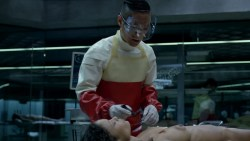 Thandie Newton nude bush and boobs Angela Sarafyan nude and Tessa Thompson butt naked - Westworld (2016) s01e07 HD 1080p (7)