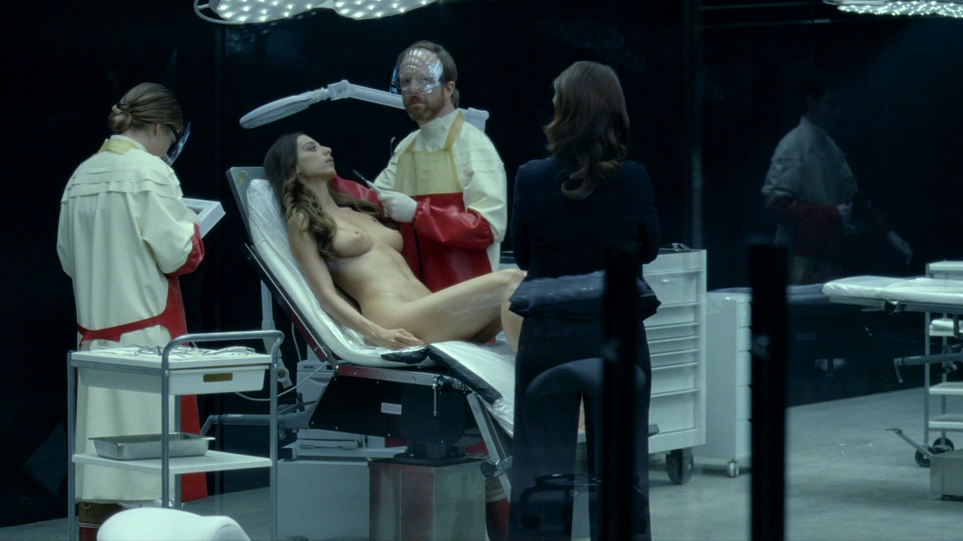 Thandie Newton nude bush and boobs Angela Sarafyan nude and Tessa Thompson butt naked - Westworld (2016) s01e07 HD 1080p (2)