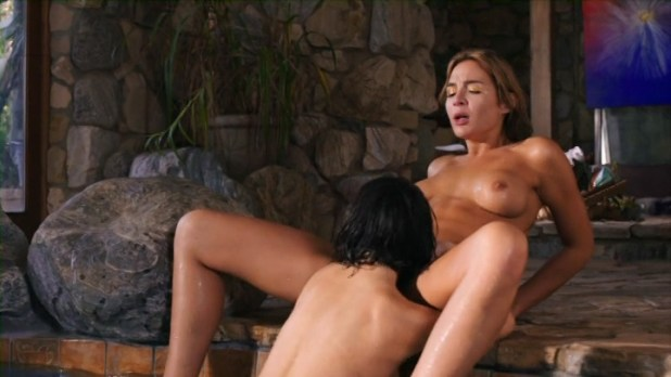 Vanessa Cage nude sex Blair Williams nude other's nude sex, oral, lesbian - Escape from Pleasure Planet (2016) (12)