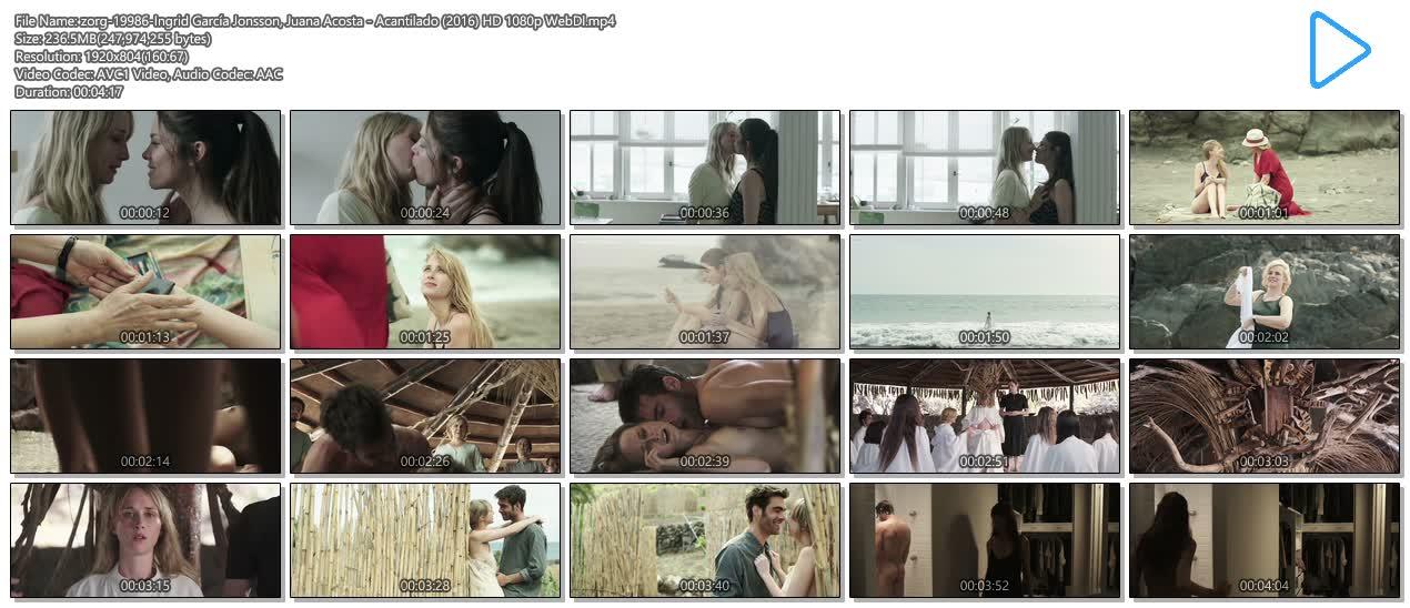Ingrid García Jonsson nude topless and sex and Juana Acosta nude butt - Acantilado (2016) HD 1080p WebDl (8)