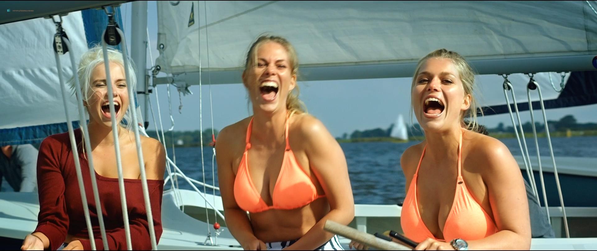 Holly Mae Brood hot and sexy Carolien Spoor, Marly van der Velden nude sex - Sneekweek (NL-2016) HD 1080p BluRay (18)