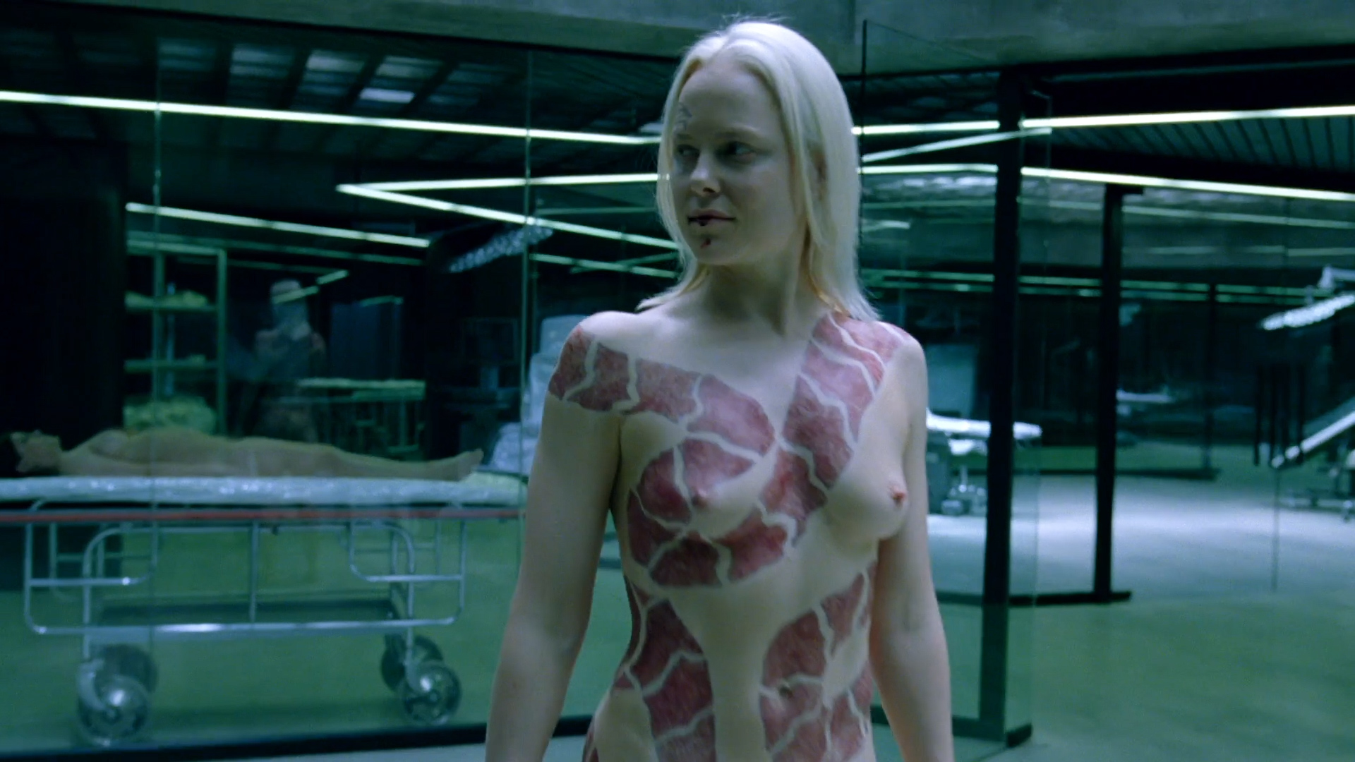Ingrid Bolsø Berdal nude full frontal - Westworld (2016) s1e10 HD 1080p (1)