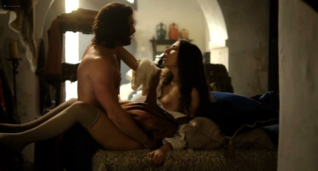 Miriam Leone nude sex Valentina Belle nude and other's nude too – Medici Masters of Florence (2016) s1e1 HD 1080p (6)