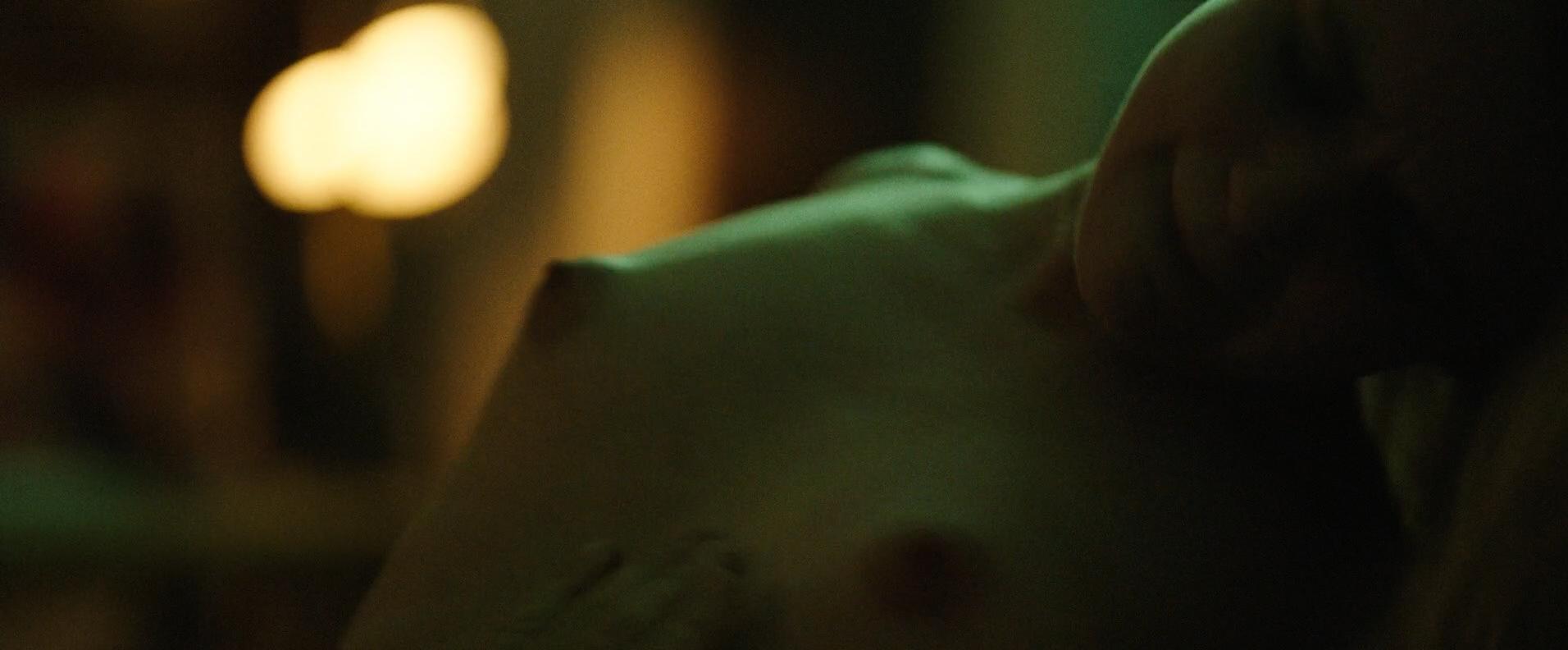 Morgan Saylor nude topless explicit blow job and India Menuez nude - White Girl (2016) HD 1080p (8)