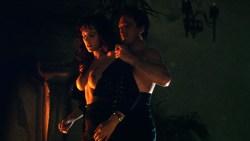 Sherilyn Fenn nude topless and sex Charlie Spradling nude busty - Meridian (1990) hd 1080P BluRay (3)