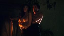 Sherilyn Fenn nude topless and sex Charlie Spradling nude busty - Meridian (1990) hd 1080P BluRay (1)