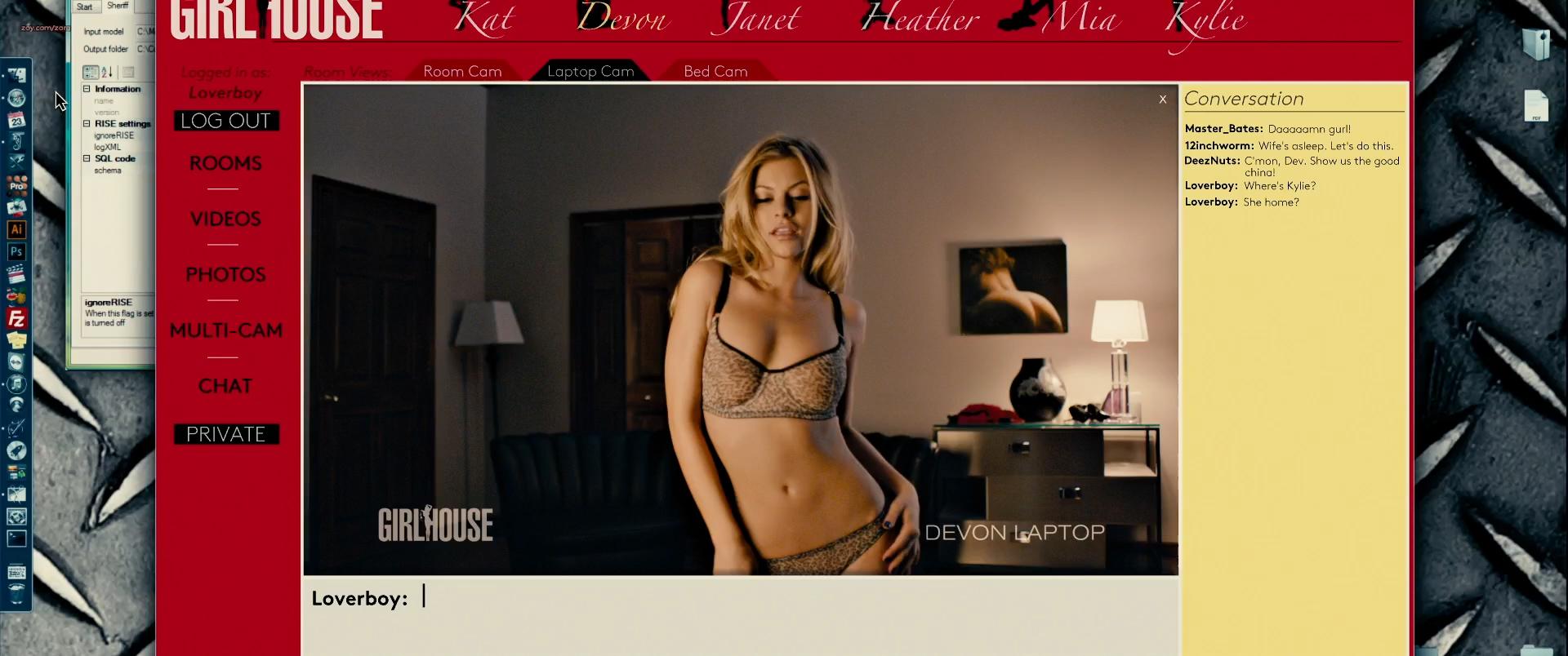 Alyson Bath hot and sexy - Girlhouse (2014) HD 1080p Web-Dl (1)