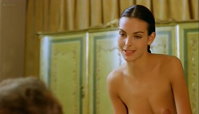 Carole Bouquet nude topless and sex - Il Cappotto Di Astrakan (IT-1980) (4)