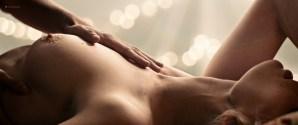 Chloe Farnworth nude topless lesbian sex with Lauryn Nicole Hamilton - Ava's Impossible Things (2016) HD 1080p WebDL (1)