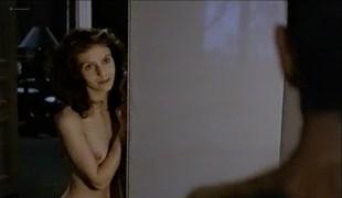 Fanny Bastien nude topless and cute Marisa Berenson and Agnes Garreau nude topless- La tete dans le sac (FR-1983) VHS