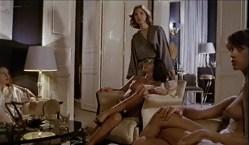 Fanny Bastien nude topless and cute Marisa Berenson and Agnes Garreau nude topless- La tete dans le sac (FR-1983) VHS (4)