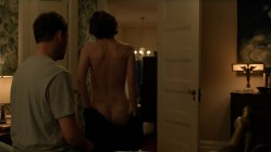 Irène Jacob nude butt and side boob - The Affair (2017) s3e6 HD 1080p (1)