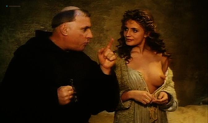 Isabella Ferrari nude topless Carole Bouquet nude butt Isabella Dandolo nude- Dagobert (IT-1984) (12)