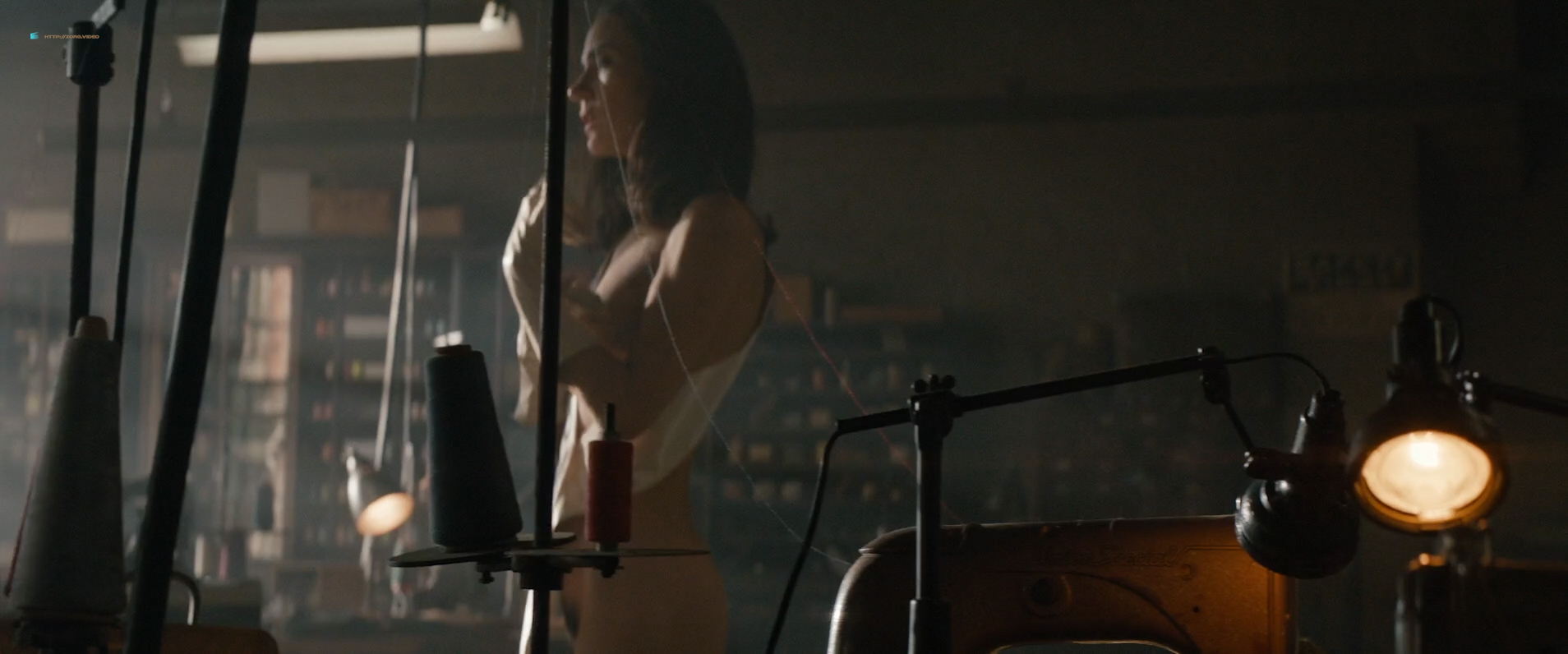Jennifer Connelly nude brief bush and side boob - American Pastoral (2016) HD 1080p WebDL (3)